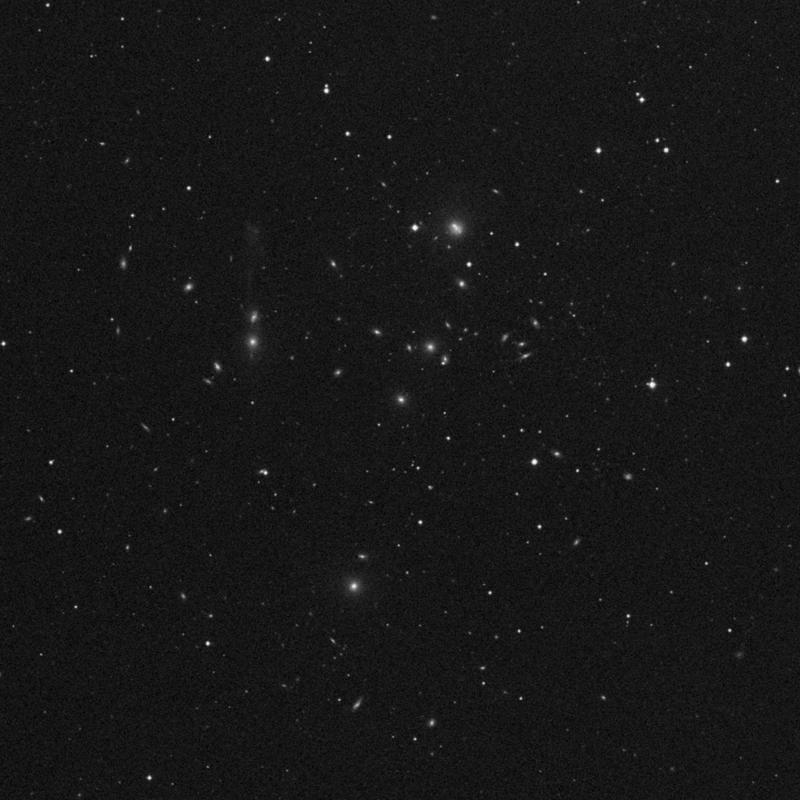 Image of NGC 3554 - Elliptical Galaxy in Ursa Major star