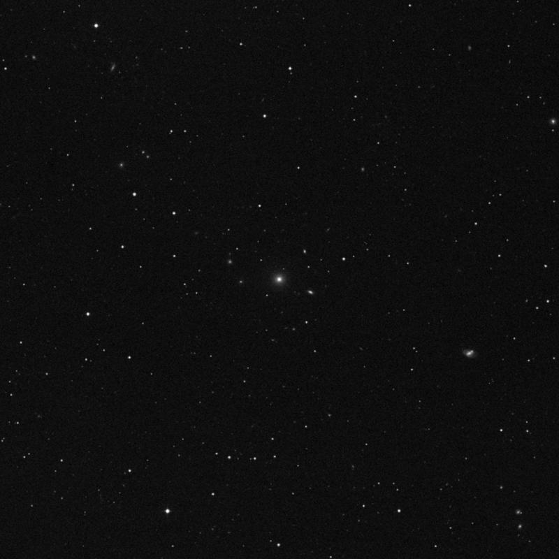 Image of NGC 3569 - Lenticular Galaxy in Ursa Major star