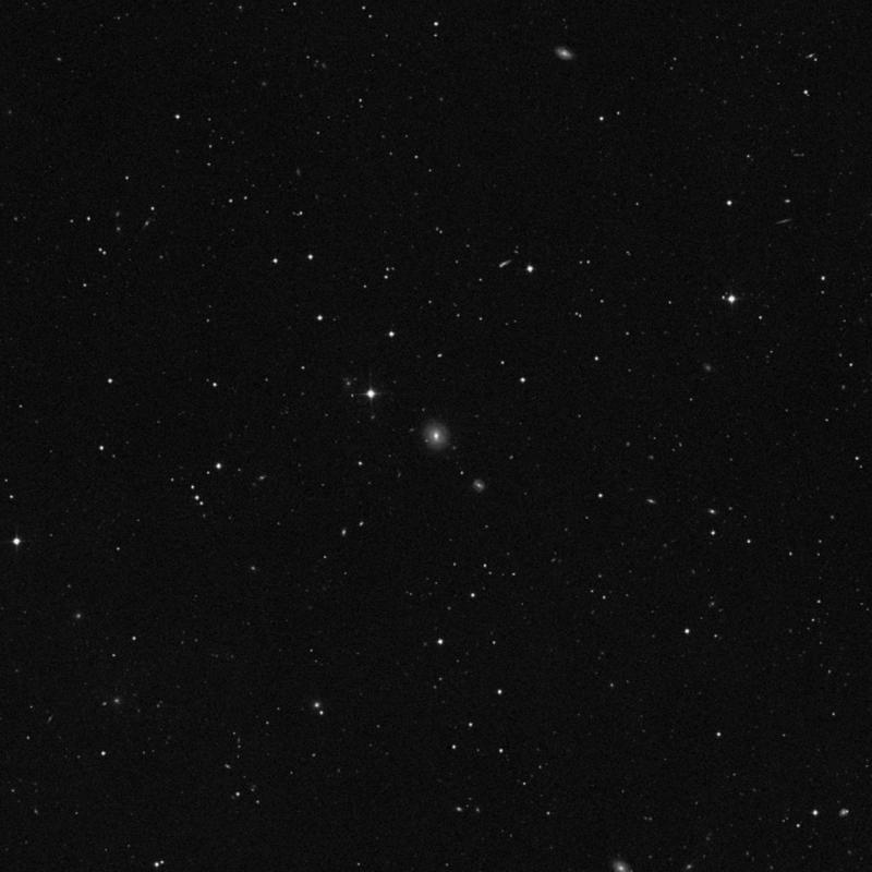 Image of NGC 3594 - Lenticular Galaxy in Ursa Major star
