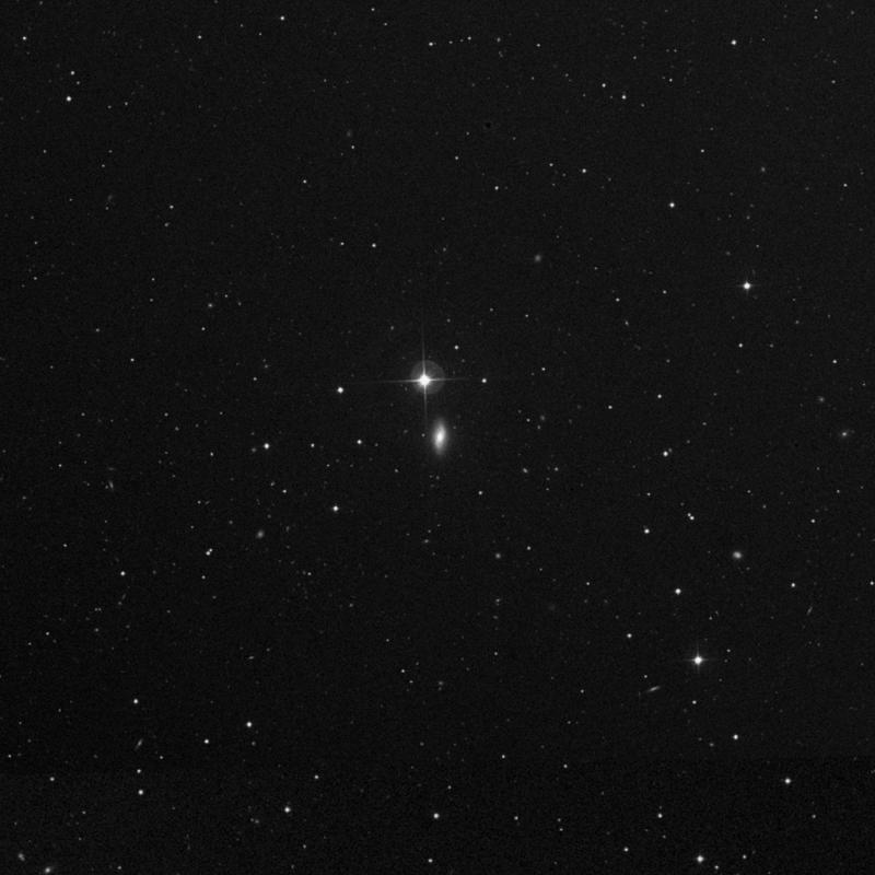 Image of NGC 3595 - Lenticular Galaxy in Ursa Major star