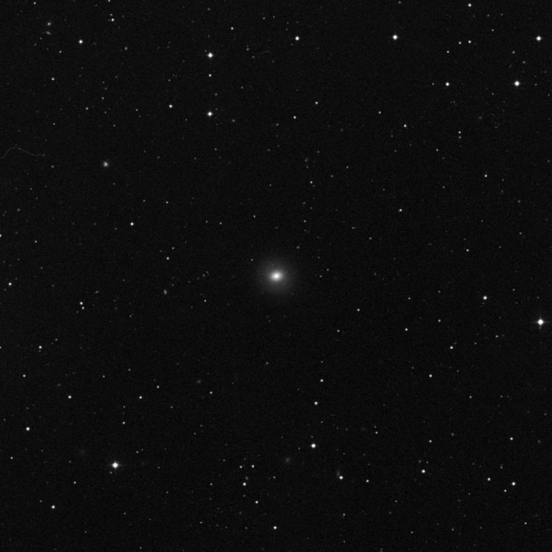 Image of NGC 3599 - Lenticular Galaxy in Leo star