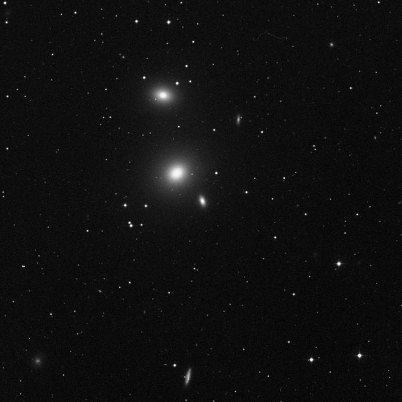 Image of NGC 3605 - Elliptical Galaxy in Leo star