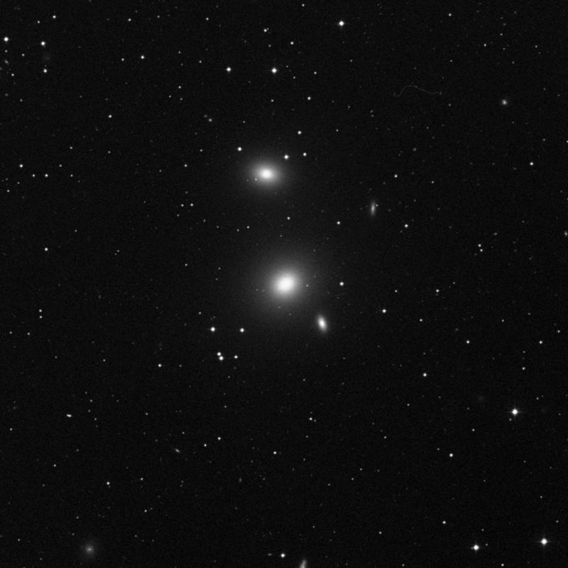 Image of NGC 3607 - Elliptical/Spiral Galaxy in Leo star