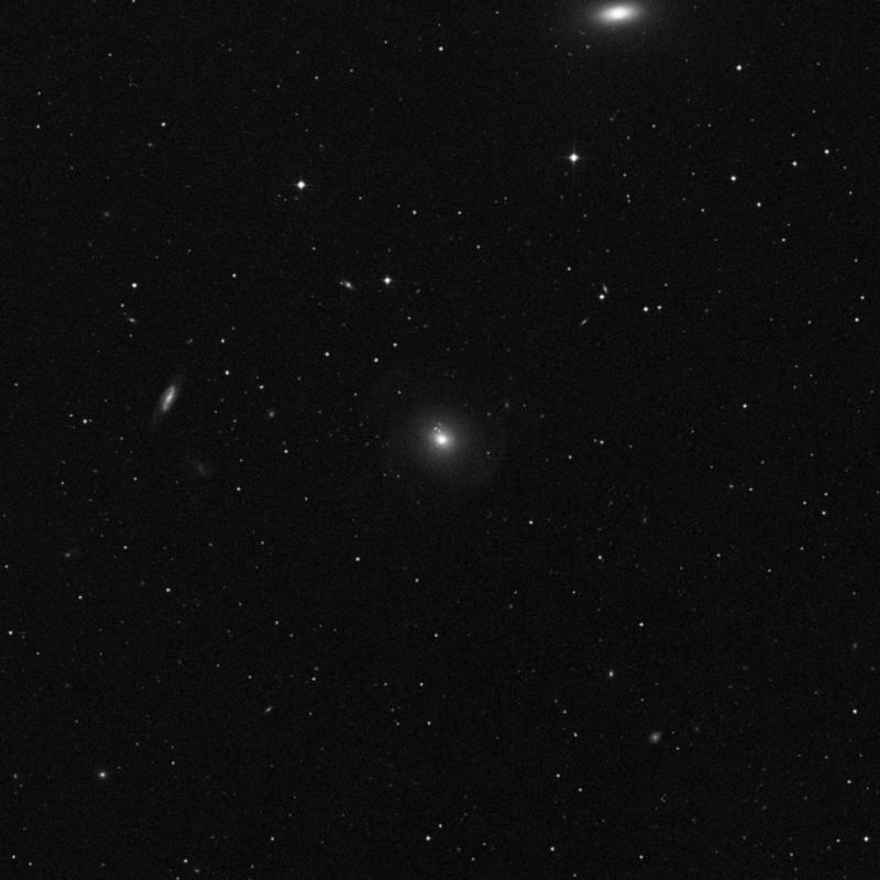 Image of NGC 3619 - Lenticular Galaxy in Ursa Major star