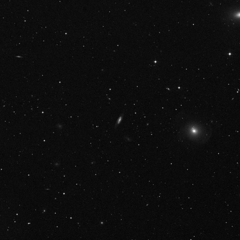 Image of NGC 3625 - Spiral Galaxy in Ursa Major star