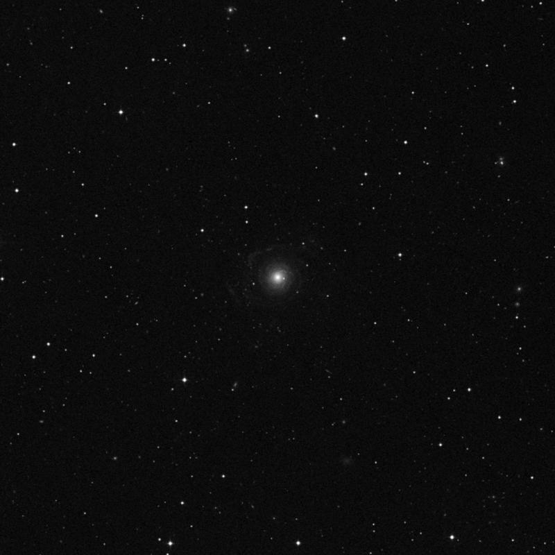 Image of NGC 3642 - Spiral Galaxy in Ursa Major star