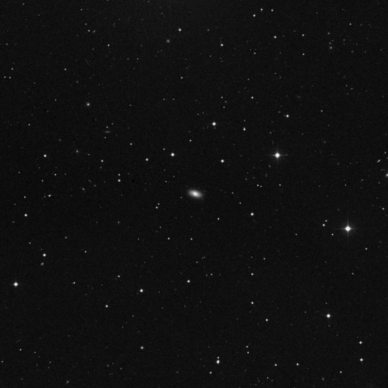 Image of NGC 3648 - Lenticular Galaxy in Ursa Major star