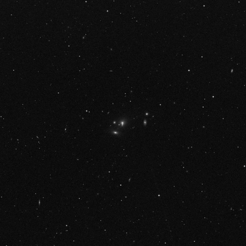 Image of NGC 3651 NED01 - Elliptical Galaxy in Leo star