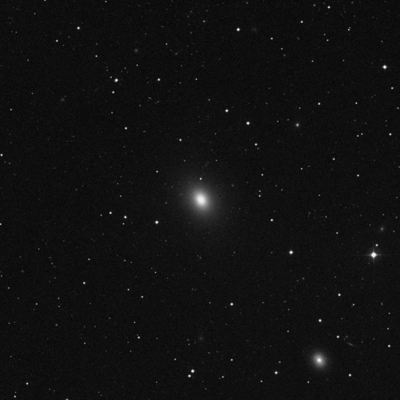 Image of NGC 3665 - Lenticular Galaxy in Ursa Major star