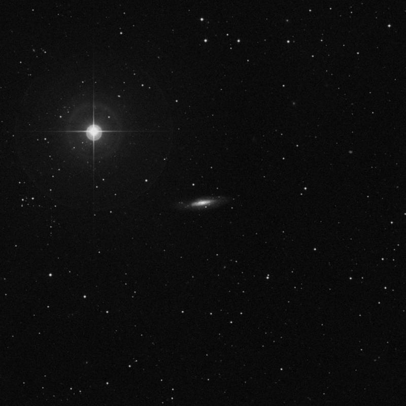 Image of NGC 3666 -  Galaxy in Leo star
