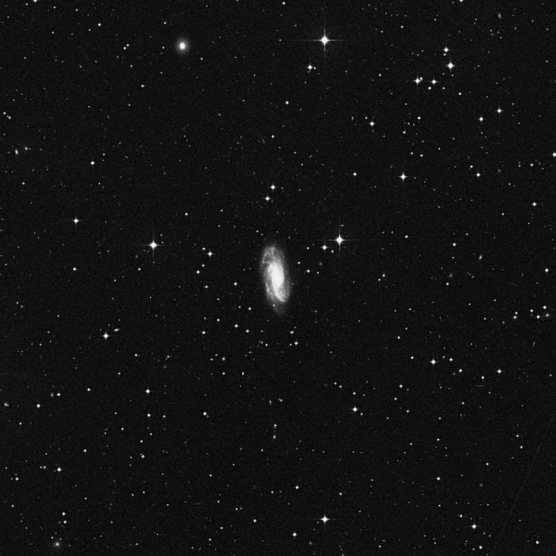 Image of NGC 3672 - Spiral Galaxy star