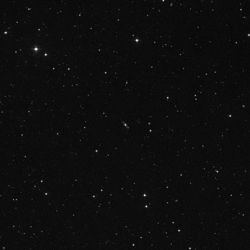 Image of IC 1003 - Intermediate Spiral Galaxy in Virgo star