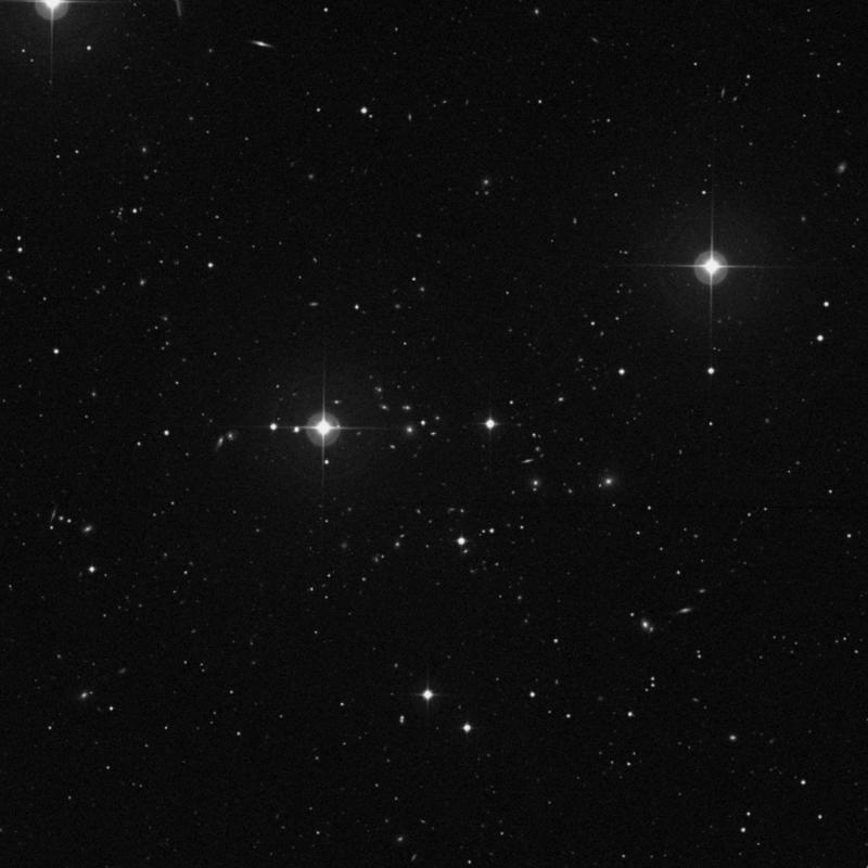 Image of IC 926 - Elliptical Galaxy in Ursa Major star