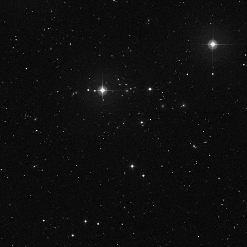 Image of IC 928 - Elliptical Galaxy in Ursa Major star