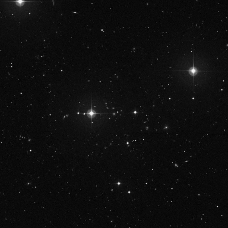 Image of IC 929 - Elliptical Galaxy in Ursa Major star