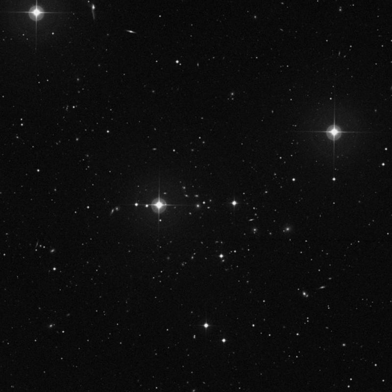 Image of IC 930 - Elliptical Galaxy in Ursa Major star