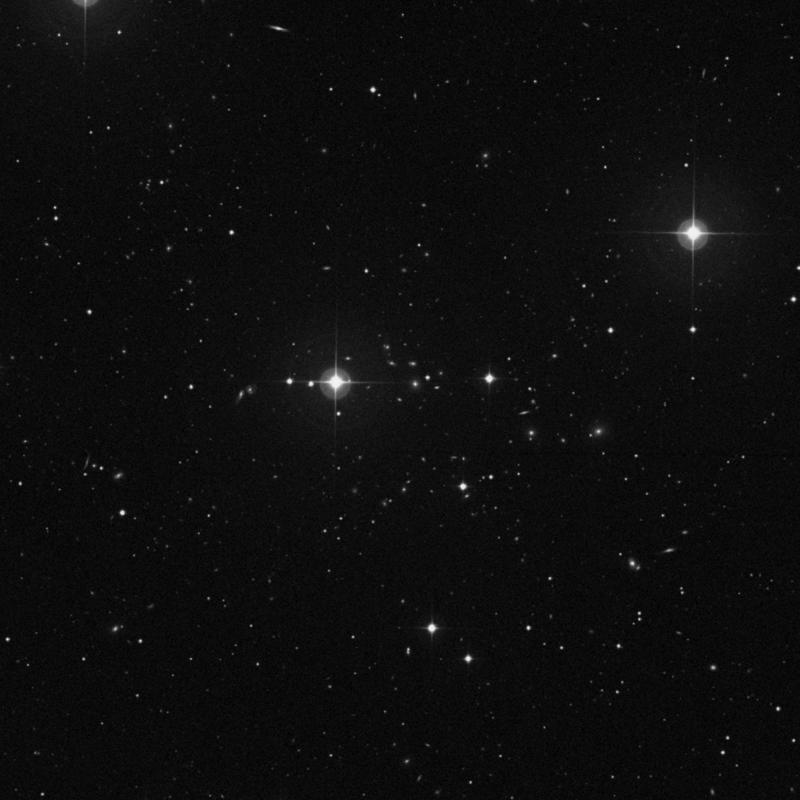 Image of IC 931 - Spiral Galaxy in Ursa Major star