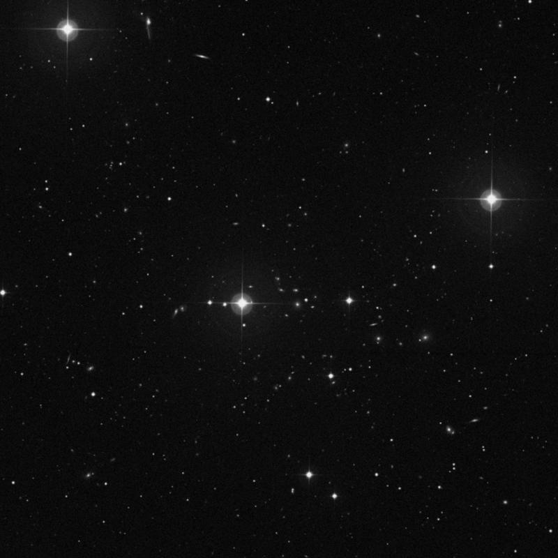 Image of IC 934 - Spiral Galaxy in Ursa Major star
