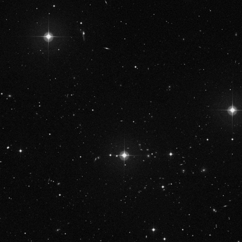 Image of IC 936 - Spiral Galaxy in Ursa Major star