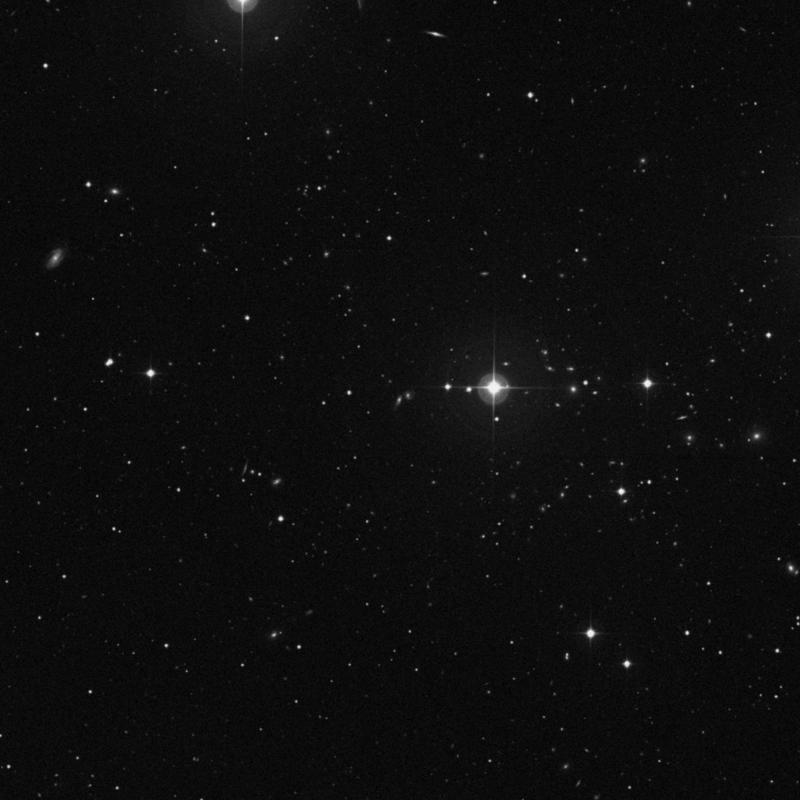 Image of IC 938 - Spiral Galaxy in Ursa Major star