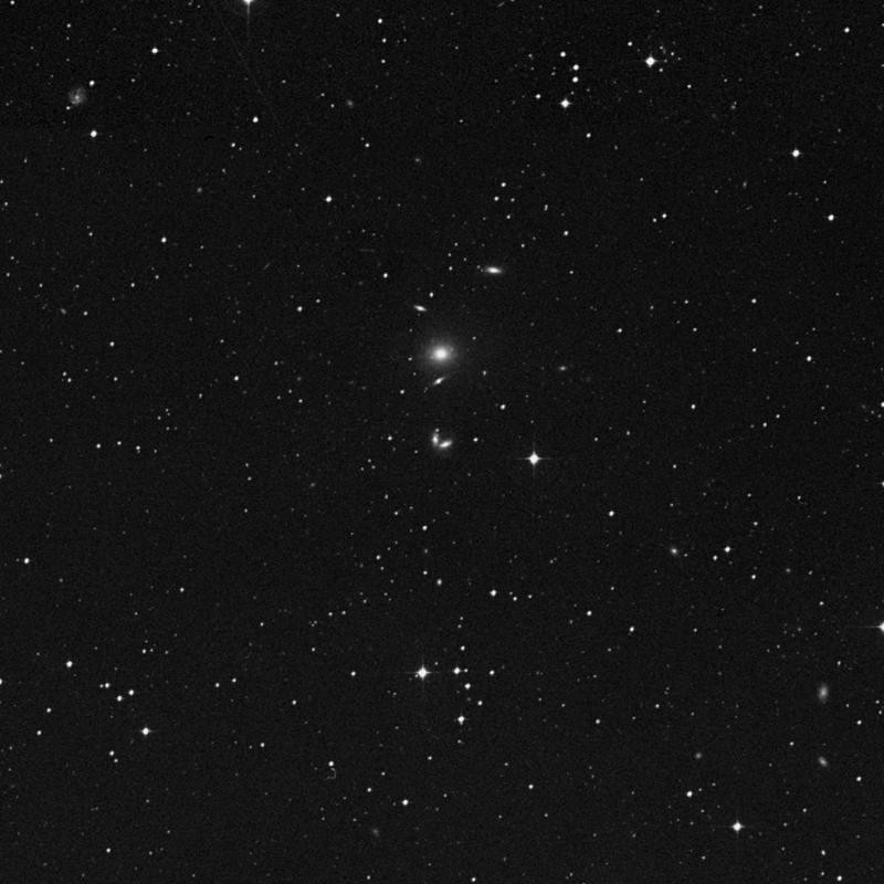 Image of IC 968 - Galaxy Pair in Virgo star