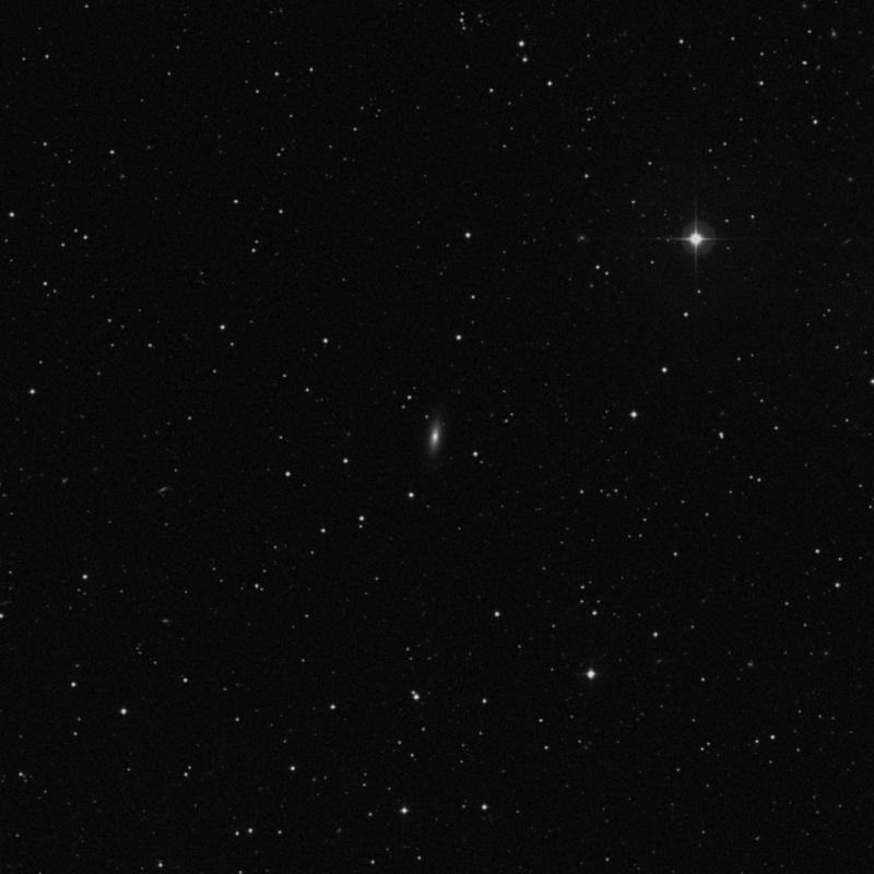 Image of IC 976 - Lenticular Galaxy in Virgo star