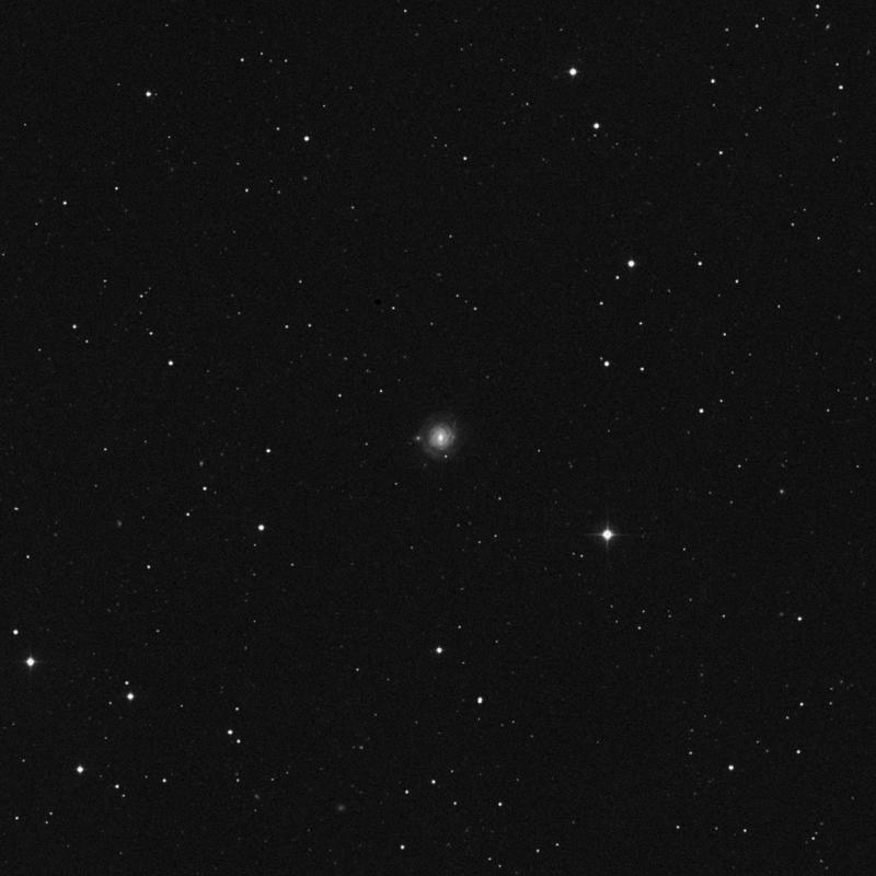 Image of NGC 3687 - Spiral Galaxy in Ursa Major star