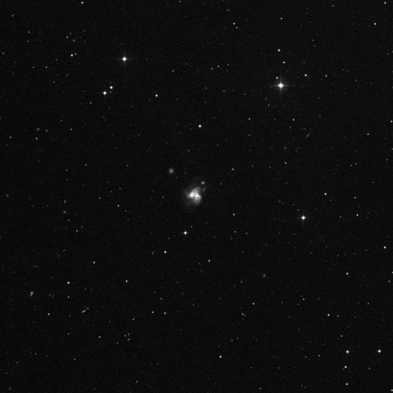 Image of NGC 3690A - Spiral Galaxy in Ursa Major star