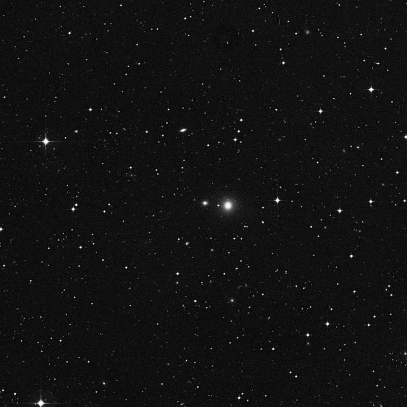 Image of NGC 3707 - Elliptical Galaxy star