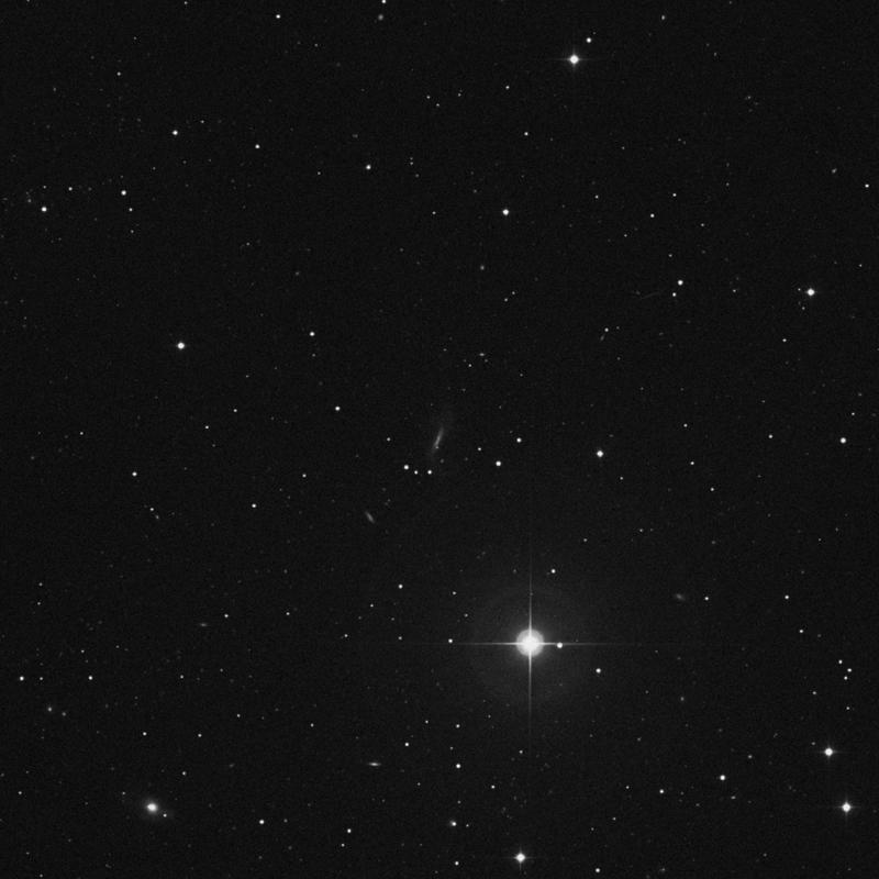 Image of NGC 3712 - Barred Spiral Galaxy in Ursa Major star