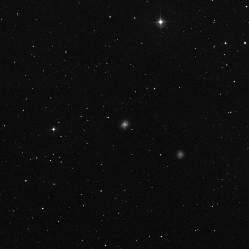 Image of NGC 3725 -  Galaxy in Ursa Major star