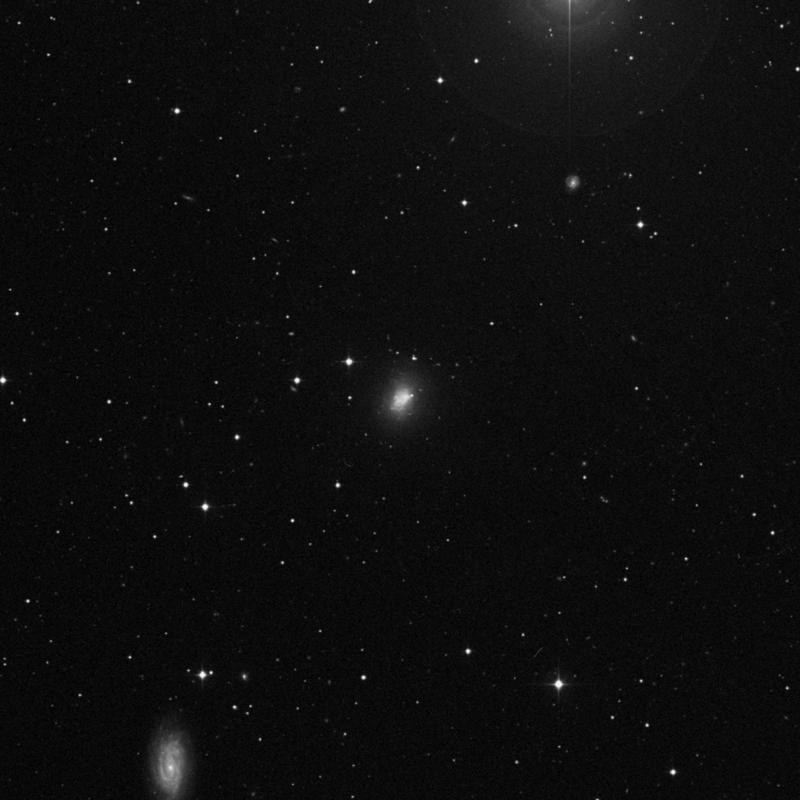 Image of NGC 3738 - Irregular Galaxy in Ursa Major star