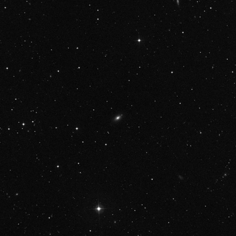 Image of NGC 3796 - Elliptical/Spiral Galaxy in Ursa Major star