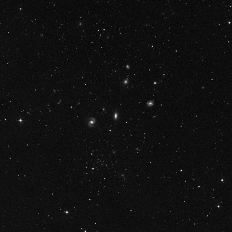 Image of NGC 3822 - Lenticular Galaxy in Virgo star