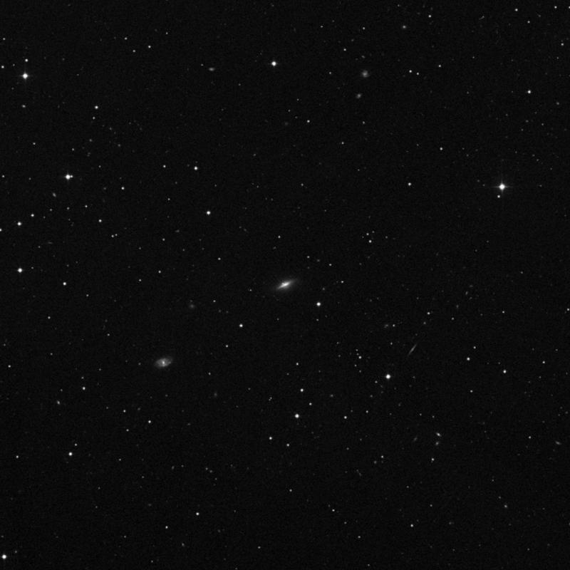 Image of NGC 3824 - Barred Spiral Galaxy in Ursa Major star