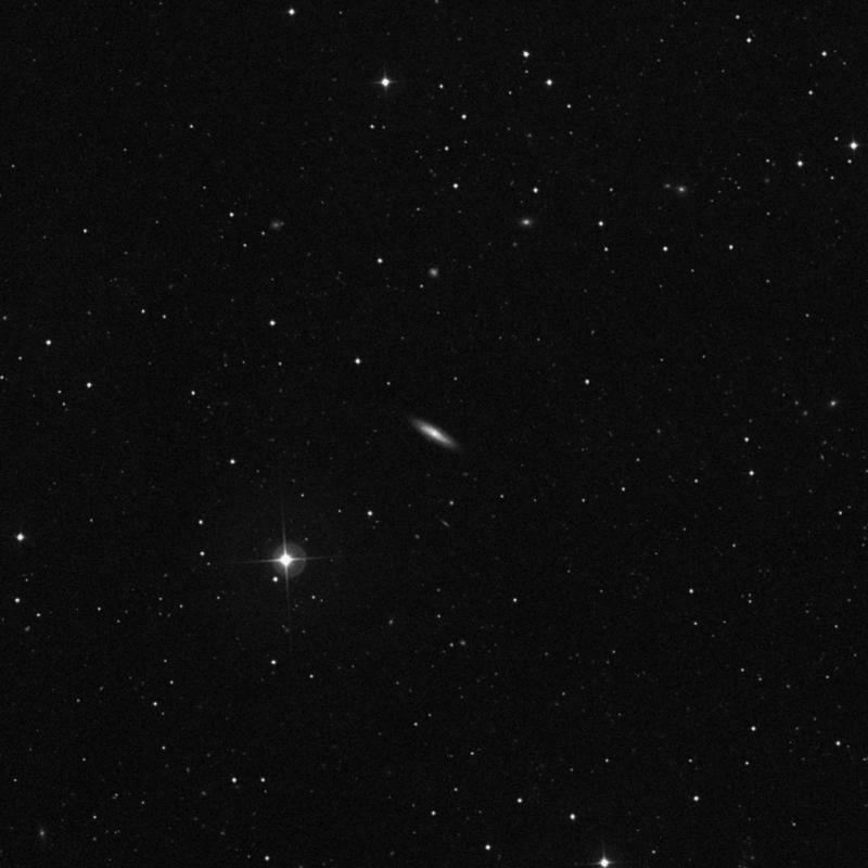 Image of NGC 3835 - Spiral Galaxy in Ursa Major star