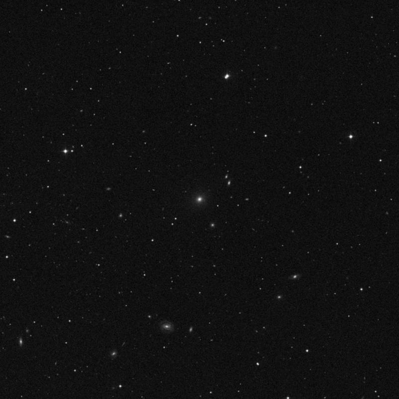 Image of NGC 3847 - Elliptical Galaxy in Ursa Major star