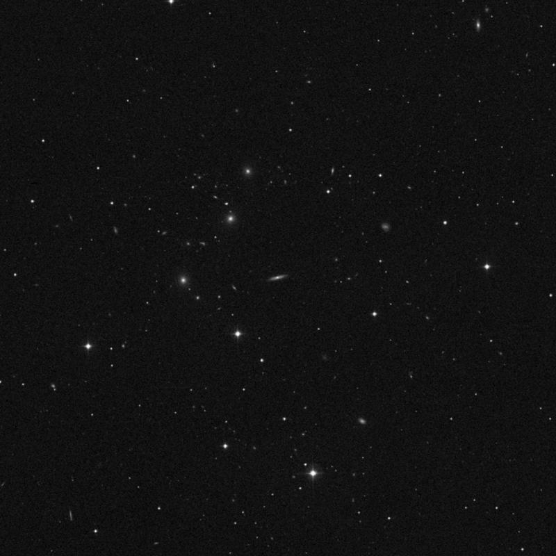 Image of NGC 3871 - Spiral Galaxy in Ursa Major star