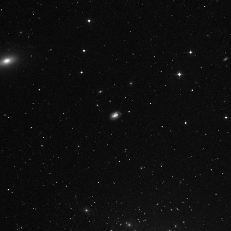 Image of NGC 3888 - Intermediate Spiral Galaxy in Ursa Major star