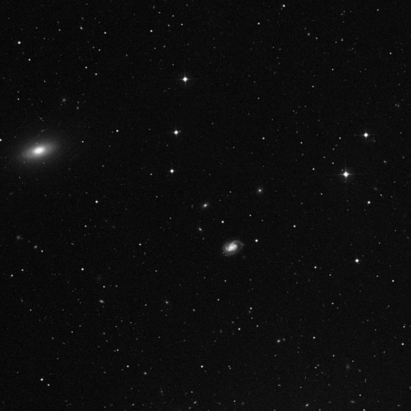 Image of NGC 3889 - Elliptical/Spiral Galaxy in Ursa Major star