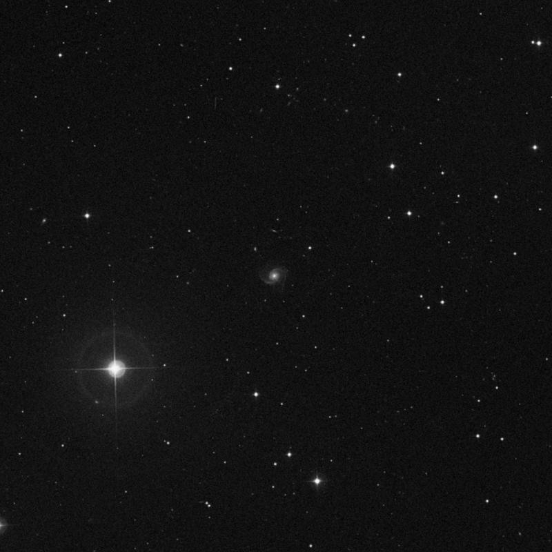 Image of NGC 3897 - Barred Spiral Galaxy in Ursa Major star