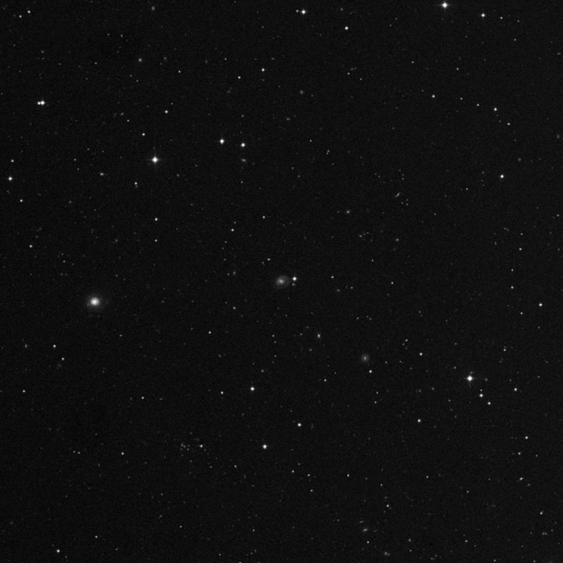 Image of NGC 3911 - Intermediate Spiral Galaxy in Leo star