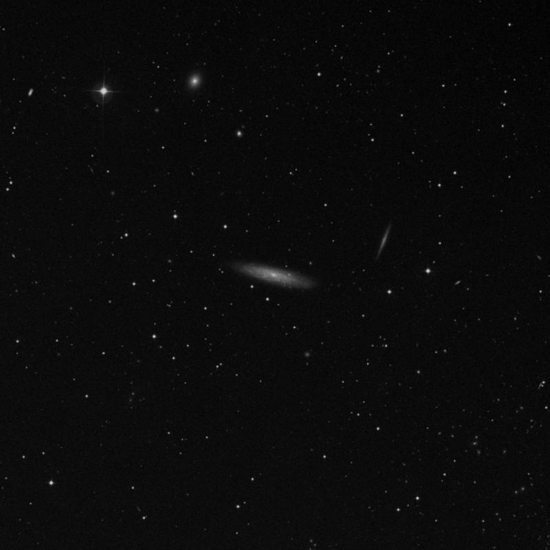 Image of NGC 3917 - Spiral Galaxy in Ursa Major star