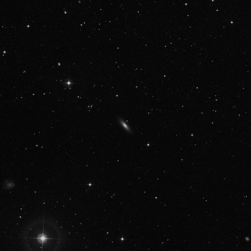Image of NGC 3922 - Lenticular Galaxy in Ursa Major star