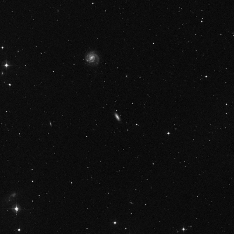 Image of NGC 3958 - Spiral Galaxy in Ursa Major star
