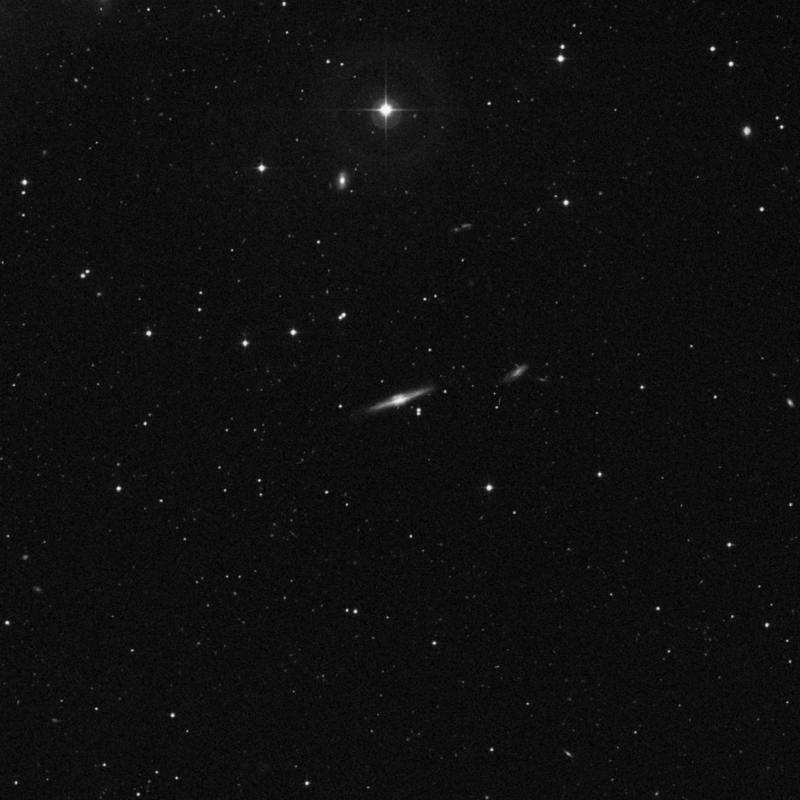 Image of NGC 3966 - Lenticular Galaxy in Ursa Major star
