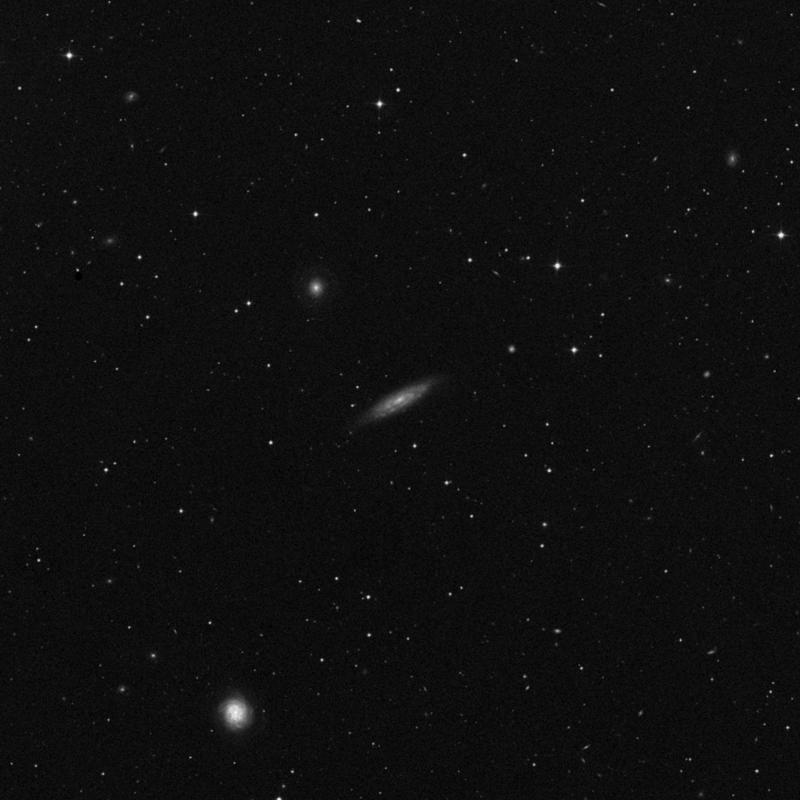Image of NGC 3972 - Intermediate Spiral Galaxy in Ursa Major star