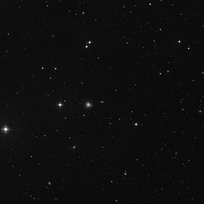 Image of NGC 3975 - Intermediate Spiral Galaxy in Ursa Major star