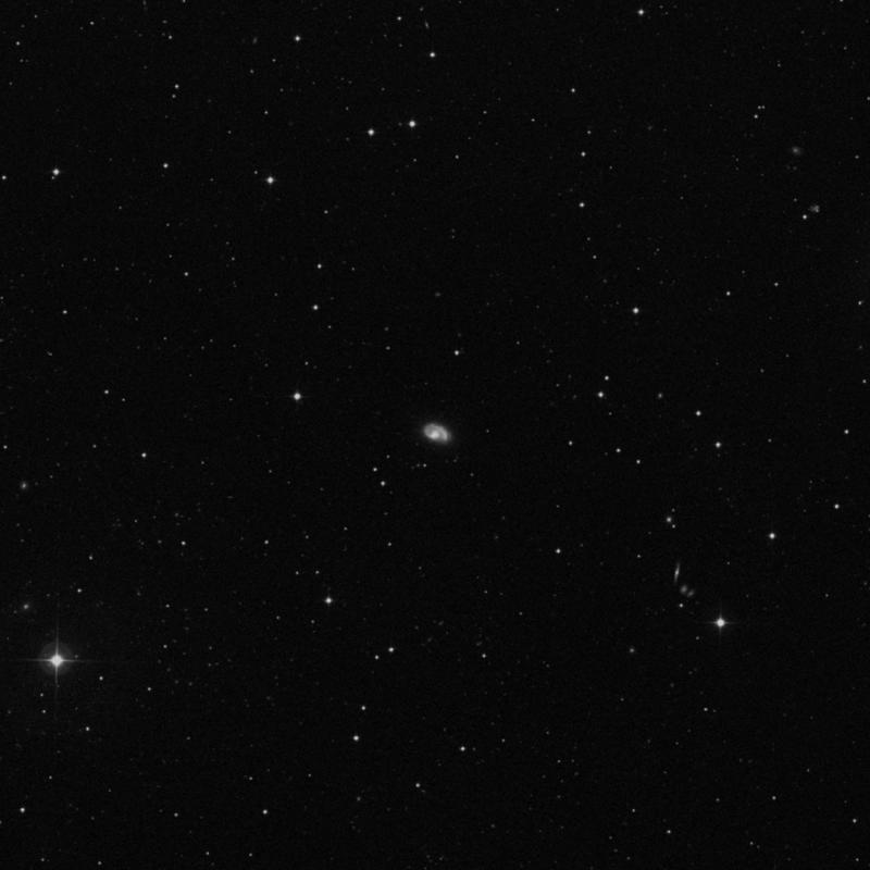 Image of NGC 3985 - Spiral Galaxy in Ursa Major star