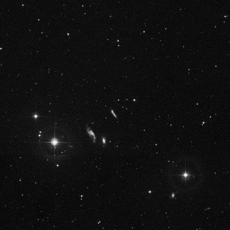 Image of NGC 3991 NED01 - Irregular Galaxy in Ursa Major star